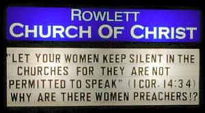 Why Are There Women Preachers